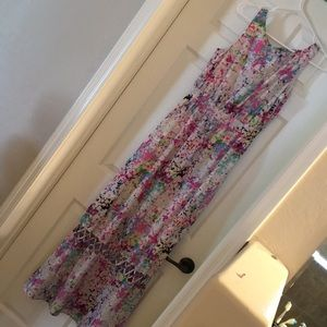 Gianni Bini multicolor maxi dress